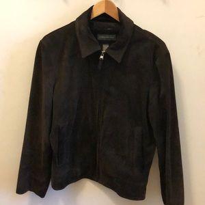 Banana Republic Men's Leather Suede Jacket M